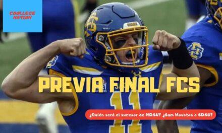Previa Championship FCS – South Dakota State Vs. Sam Houston